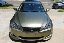 Lexus IS Lighting / The Lexus IS250 IS350 and ISF are a very popular platform for FlyRyde. We offer many different options, including custom paint, LEDs, Angel Eyes, and DRLs to update the look of the 2006-2010 models that were not available with OEM LEDs like the 2011+ / by FlyRyde .com