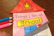 Themes & Schemes: Back to School & Getting to Know You / Ideas for back to school, including centers, getting to know you activities, etc.