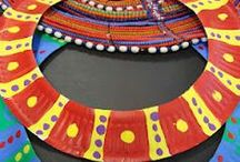 Themes & Schemes: Around the World / Ideas for Around the World Multicultural theme, including art and craft projects, bulletin board ideas, etc.