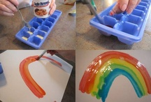 Spring Art & Crafts / Spring-themed art and craft ideas for PreK and Kindergarten, including Spring, Weather, and Easter crafts.