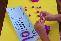 Math: Numbers, Counting & Number Sense / Activities and ideas for teaching and reinforcing numbers, counting and number sense for Pre& Kindergarten!