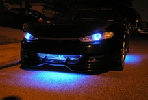 How we got our start in 2003 / WOW, just found suuuuper old pics. I made this first set of Angel Eyes a few days after I turned 19 in 2003. People liked the idea, and after making a clean perfect set in blue for my 1997 Hyundai Tiburon, I started getting orders. Tis the tale of FlyRyde my friends ;) / by FlyRyde .com