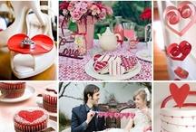 Valentine's Theme Wedding