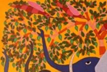 Tree of Life - Gond Tribal Art