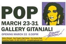 POP / Gallery Gitanjali Invites u for the opening of POP an Exhibition of Czech artist: Richard Augustin on Friday 22nd of March 2013. Exhibition will remain open till 31st March 2013