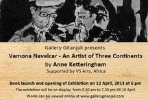 """Vamona Navecar - An Artist of Three Continents  / Book Launch of """"Vamona Navecar - An Artist of Three Continents"""" by Anne Ketteringham And an Exhibition of Vamona Navelcar's works"""