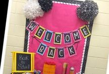 Classroom Decor: Bulletin Boards, Doors & More / Fun ideas for classroom decorations, including bulletin boards, doors and more!
