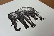 Letterpress Stationery / Some Wolf & Ink Letterpress Stationery Projects