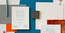 Autumn Wedding Inspiration - Orange & Teal / Details and decorations in Early Autumn Colour Palette of warm Greys, Oranges & Teal