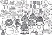 DESIGN PROCESSS+ / sketches / models / presentations