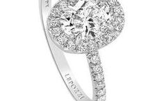 Oval Engagement Rings from Lauren B / We love this shape and so do our clients.  Its elongated appearance makes it very flattering on almost any hand