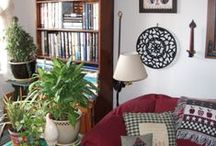 Garden INDOORS2~HOUSEPLANTS  as decor  / I could no longer live without growing plants inside my home than I could live without books, music, or even . . .my Pinterest!  LOL   / by Sandy SKDCP