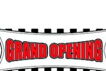 Banners and Signs / DPSBanners.com offers banners and signs for your business and retail store advertising providing hundreds of eye catching designs such as Grand Opening, Sale, For Lease, Under New Management, Coming Soon, Clearance Sale and more.