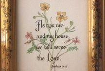 Thy Word is a Lamp / Favorite verses from the Bible