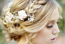 Wedding Day Inspiration- Hair / Hair inspirations for your big day!