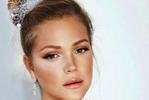 Wedding Day Inspiration- Makeup / Bridal Makeup Ideas and Inspiration- from Dramatic to Soft we have got you covered.