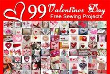 Valentine's Day Free Sewing Patterns  / Love to Sew? You'll find more at www.Love-to-Sew.com