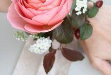 {inspirace} svatba: květiny