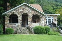 STONEWORK  ~ Houses, Walls, Walks, etc / I've always loved stone houses, (or is it rock houses?).  Same thing either way.  They look so sturdy, and if properly maintained, should provide a warm and secure home for centuries. . .  / by Sandy SKDCP