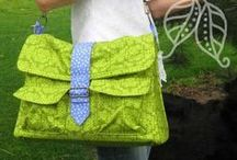 Messenger Bag Patterns / More at www.Bags-to-Sew.com