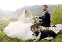 Nordic spring wedding / I love the promising green of a spring wedding