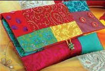 Clutch Purse Patterns / More at www.Bags-to-Sew.com