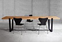 TISCHE_STÜHLE_DESIGN / Massivholztische, Stühle, Sessel, Essräume,