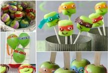 TMNT Party! / Throw a Teenage Mutant Ninja Turtles party for kids (and kids at heart)!
