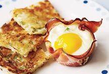 Brunch / Yummy brunch & breakfast ideas!