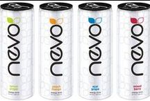Nevo Energy Healthy energy drink. / The Smart Choice We didn't create the energy drink…we just perfected it. Nevo offers a fresh twist on energy in four refreshing formulas. Featuring real fruit juices, Nevo contains only 50 calories per can, just the right amount of energy and no artificial flavors, colors and sweeteners. When it comes to your energy needs, it's time to make the smart choice. It's time to Nevo.