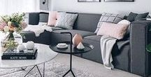 WOHNZIMMER   LIVING ROOM / All about how to style your lingin room! Living Room interior, couch, Buildings, home-decor and more