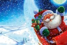 *Père Noël * Santa in the Sky*