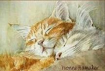 *Chat * Cat * Illustrations * Art*