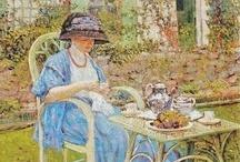 *Le temps d'un thé  Art 1 Tea time*  /  Art