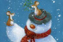 *Bonhomme de Neige * Snowman 2*