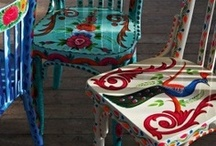 Painted furnitures
