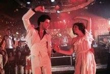 Saturday Night Fever / Ultra Favourite movie of mine...remember how memorised I was the first time I saw it...loved John Trovolta, loved the Bee Gees and loved that style of dancing. Disco era was my era and I have always loved to dance.  Have seen this movie over 20 times