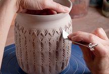 Ceramic lessons / Tools, kilns, techniques.