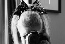 Cheer bows/hair <3