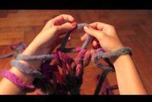 Crochet, knitting, sashiko...
