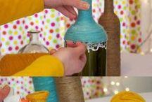 Με πλαστικά μπουκάλια