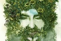 The Horned God and Green Man