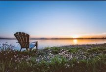 Summer landscapes at Auberge Lac-Brome / Welcome to Auberge Lac-Brome! A simple visit and you will be charmed by the breathtaking landscape surrounding our Auberge.