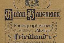 Frýdlant, Hausmann A / Anton Hausmann, Photographisches Atelier, Friedland, (Frýdlant)