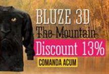 Bluze 3D The Mountain / Bluze 3D The Mountain cu maneca lunga. Bluze unisex din bumbac 100%, cu diferite imprimeuri 3D. #bluze #themountain #cadouri #cadouripentrubarbati #cadouripentrufemei