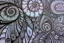 Zentangle - ZIA / by Tangledlady