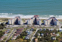 """St. Regis / Rising majestically from the white sand beaches of beautiful Topsail Island is St. Regis; your premier vacation destination.  St Regis Resort in North Topsail Beach is the island's largest resort, featuring three multi-storied buildings.  Each building offers one, two or three bedroom suites with private oceanfront or ocean view balconies.  Individually owned and furnished according to the owner's taste, ranging from whimsical resort to trendy """"shabby chic"""". http://ow.ly/fpuAR"""