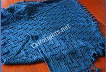 my knitting projects / knitting, chrochet