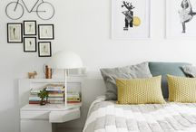 HOME  |  Bedroom ideas / Inspiration for light, white and bright bedrooms that are calming and peaceful