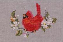 Cross Stitch Birdies & Flying Creatures
